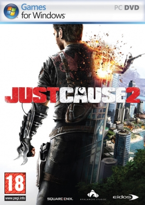 Copertina Just Cause 2 - PC
