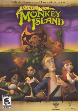 Copertina Tales Of Monkey Island - Wii