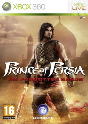 Copertina Prince of Persia: Le Sabbie Dimenticate - Xbox 360