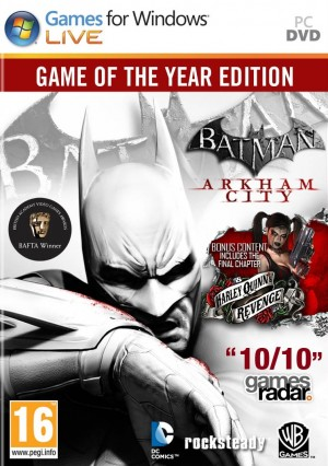 Copertina Batman: Arkham City - PC