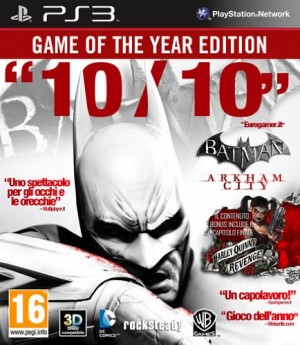 Copertina Batman: Arkham City - PS3