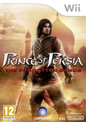 Copertina Prince of Persia: Le Sabbie Dimenticate - Wii