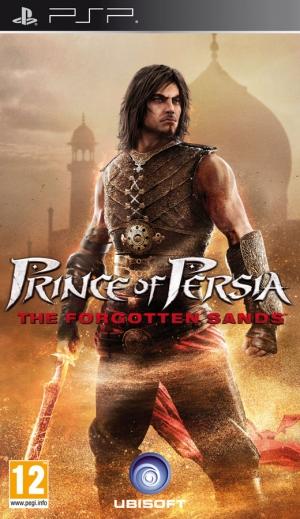 Copertina Prince of Persia: Le Sabbie Dimenticate - PSP