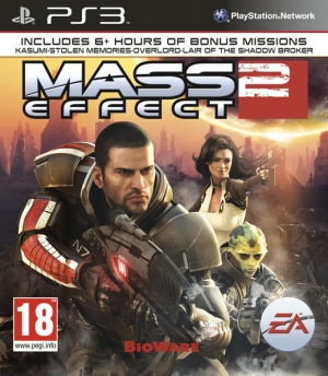 Copertina Mass Effect 2 - PS3