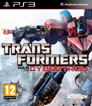 Copertina Transformers: War for Cybertron - PS3