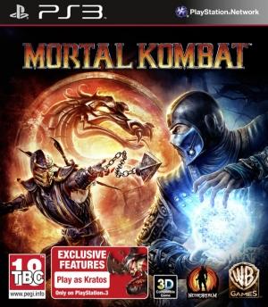 Copertina Mortal Kombat 9 - PS3