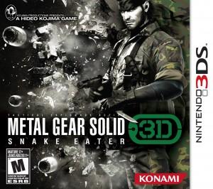 Copertina Metal Gear Solid: Snake Eater 3D - 3DS