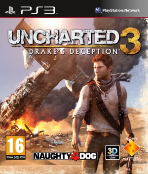 Copertina Uncharted 3: Drake's Deception - PS3