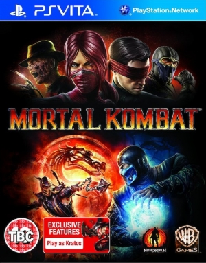 Copertina Mortal Kombat 9 - PS Vita