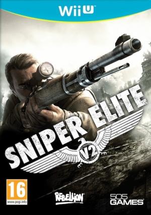 Copertina Sniper Elite V2 - Wii U