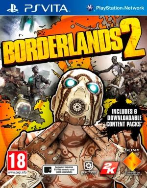 Copertina Borderlands 2 - PS Vita