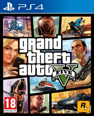 Copertina Grand Theft Auto V - PS4