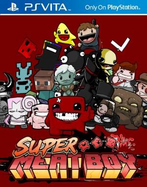 Copertina Super Meat Boy - PS Vita
