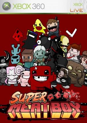 Copertina Super Meat Boy - Xbox 360