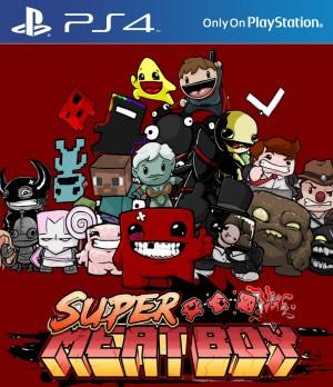 Copertina Super Meat Boy - PS4
