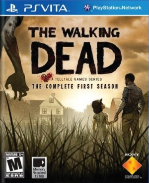 Copertina The Walking Dead - PS Vita