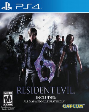 Copertina Resident Evil 6 - PS4