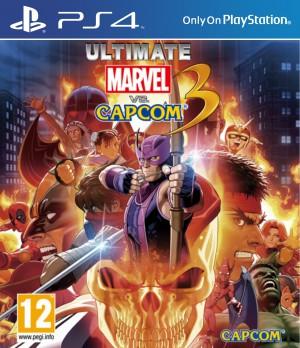 Copertina Ultimate Marvel vs Capcom 3 - PS4