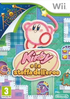 Copertina Kirby e la Stoffa dell'Eroe - Wii
