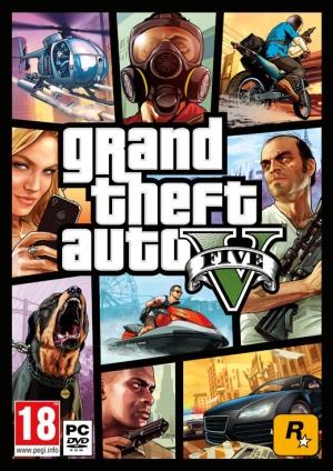 Copertina Grand Theft Auto V - PC