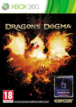 Copertina Dragon's Dogma - Xbox 360