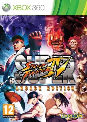 Copertina Super Street Fighter IV: Arcade Edition - Xbox 360