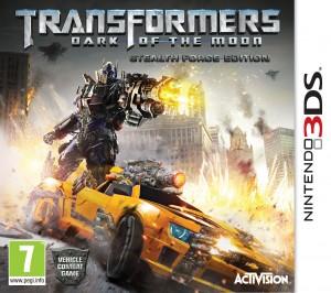 Copertina Transformers: Dark of the Moon - 3DS