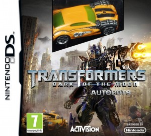Copertina Transformers: Dark of the Moon - Nintendo DS