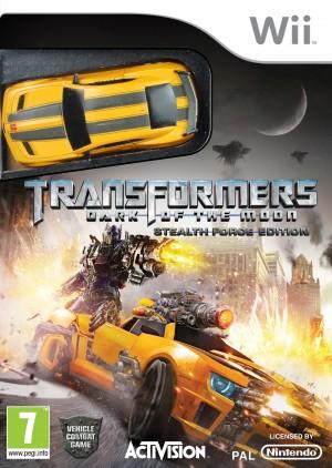 Copertina Transformers: Dark of the Moon - Wii