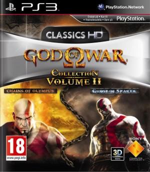 Copertina God of War Collection Volume 2 - PS3