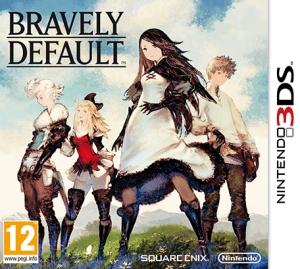Copertina Bravely Default - 3DS