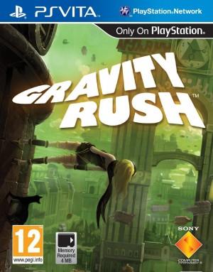 Copertina Gravity Rush - PS Vita