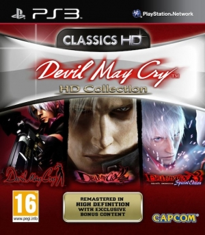 Copertina Devil May Cry HD Collection - PS3