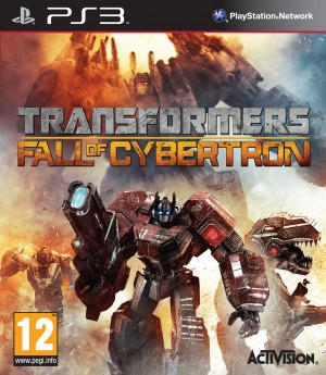 Copertina Transformers: Fall of Cybertron - PS3