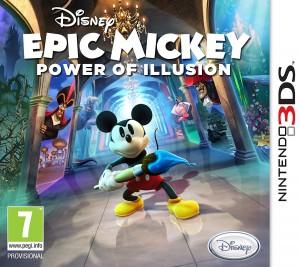 Copertina Disney Epic Mickey 2: L'Avventura di Topolino e Oswald - 3DS