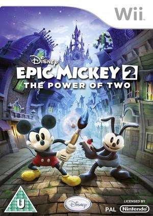 Copertina Disney Epic Mickey 2: L'Avventura di Topolino e Oswald - Wii