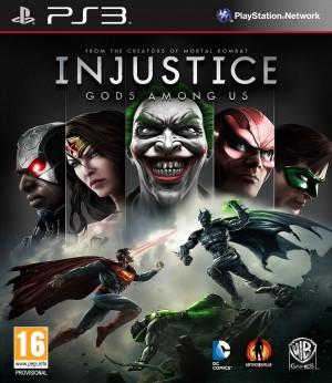 Copertina Injustice: Gods Among Us - PS3
