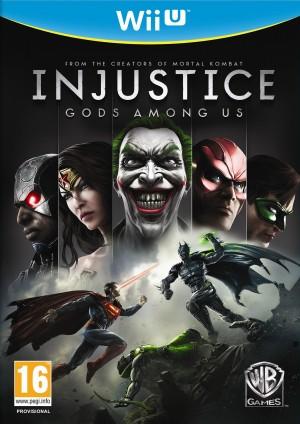 Copertina Injustice: Gods Among Us - Wii U