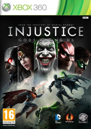 Copertina Injustice: Gods Among Us - Xbox 360
