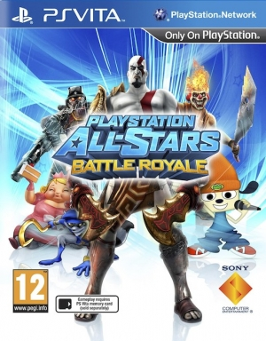 Copertina PlayStation All-Stars Battle Royale - PS Vita