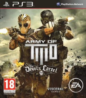Copertina Army of TWO: The Devil's Cartel - PS3