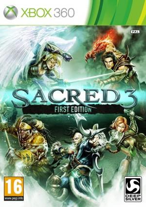 Copertina Sacred 3 - Xbox 360
