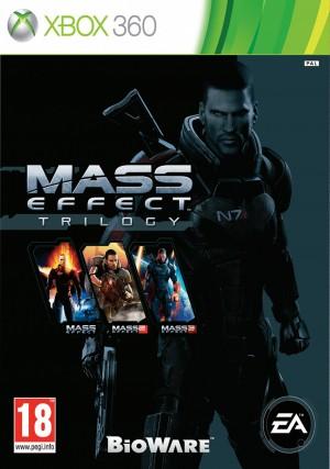 Copertina Mass Effect Trilogy - Xbox 360