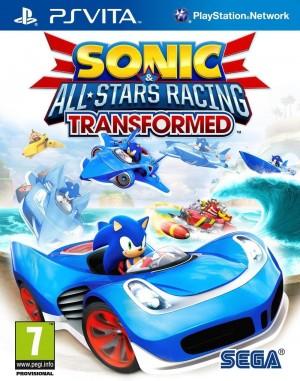 Copertina Sonic & All-Stars Racing Transformed - PS Vita