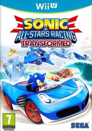 Copertina Sonic & All-Stars Racing Transformed - Wii U