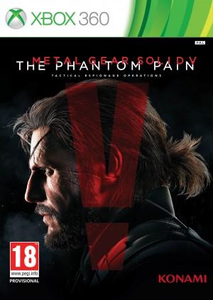 Copertina Metal Gear Solid V: The Phantom Pain - Xbox 360