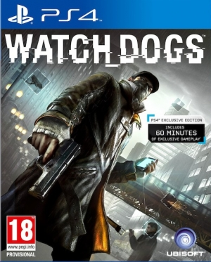 Copertina Watch Dogs - PS4