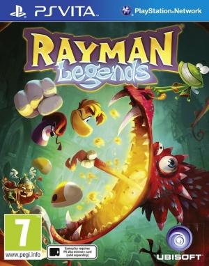 Copertina Rayman Legends - PS Vita