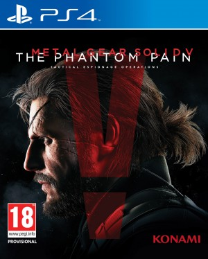 Copertina Metal Gear Solid V: The Phantom Pain - PS4