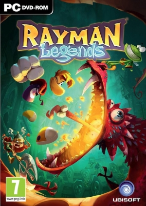 Copertina Rayman Legends - PC